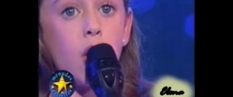 Los comienzos de Elena: la mini Paloma San Basilio en 'Menudas Estrellas' canta 'Juntos'