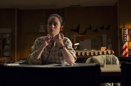 Elena Rivera, protagonista  del corto 'Rewind'