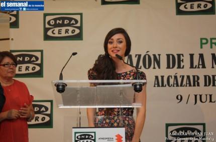 Elena Rivera, galardonada con el premio 'Corazón de La Mancha'